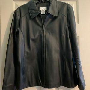 Women's Leather Covington Jacket